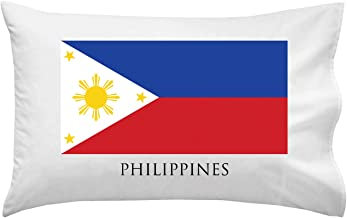 Hat Shark Philippines - World Country National Flags - Pillow Case Single Pillowcase