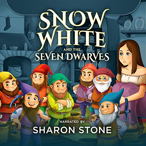 Snow White and the Seven Dwarfs: The Classics Read by Celebrities audiobook cover art