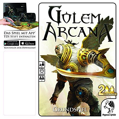 Pegasus Spiele 58000G - Golem Arcana Grundspiel
