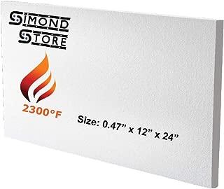 Ceramic Fiber Insulation Board (2300 F) (0.47