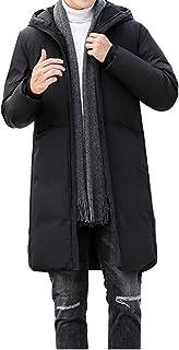 [クルーズライン] メンズ ロング ダウン コート ジャケット フード付き ジップアップ ダウンコート ダウンジャケット 防寒 軽量 C46