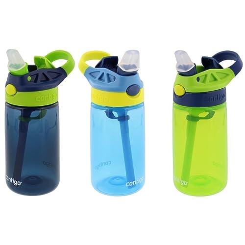 Kids Water Bottle Mountop Water Bottle for kids with Straw for School 
