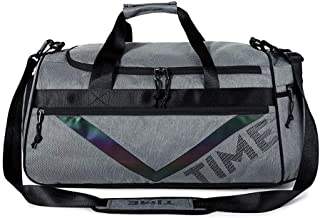 WDNMD Fitness Bag, Men's Dry and Wet Separation Sports Training packag, Waterproof Hand Luggage Bag,Convenient Durable Duffel Bag HK-60