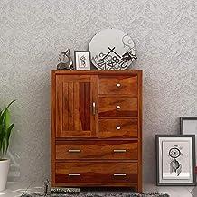 Driftingwood Sheesham Wood Avalon Chest of Drawer / 5 Drawers in Honey Finish