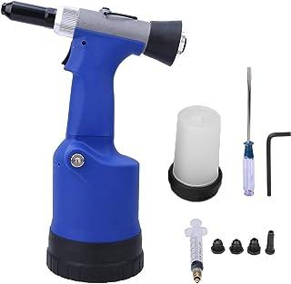 Rebitadeira pneumática, pistola de rebite, auto-sucção portátil 1/8in-1/4in Faixa de rebitagem industrial para casa