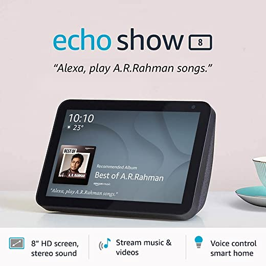 Introducing Echo Show 8 – Smart display with Alexa - 8
