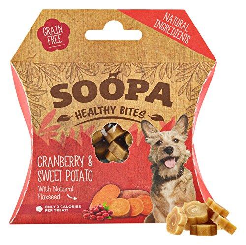 Soopa Zahnpflege-Sticks mit Cranberry / Süßkartoffel Geschmack, 50g