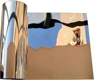 Autocollant Mural Miroir Rectangle Auto-adh/ésif pour la Chambre Sticker d/écoratif Mural Autocollant de Haute qualit/é Sticker Mural Miroir de Haute qualit/é pour Salon Salle de Bain Dowoa Film Miroir