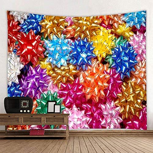 AdoDecor Tapiz de Colores Mandala Bohemio Colgante de Pared Playa de Arena Picnic Toalla Alfombra Manta Colchón 150X100CM