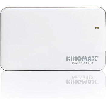 KINGMAX キングマックス 外付SSD ポータブル SSD 400MB/s(R) 390MB/s(W) USB 3.1 Gen 1KM480GKE31WE 国内正規パッケージ 3年保証 (480GB) 【 PlayStation 4 メーカー動作確認済 】