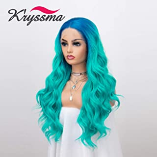 Best turquoise lace wig Reviews