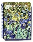 Impressionists Weekly Engagement Calendar 2021, Planner 6.5' x 8.5' Spiral Bound