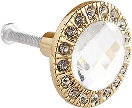Lade kast deur handle3cm ronde lade garderobe deur handvat meubilair Pull handvat (maat: 2.5cm; kleur: goud)