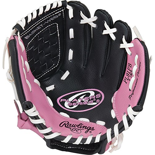 Rawlings Youth Glove 9 In. Right Hand Throw Pink
