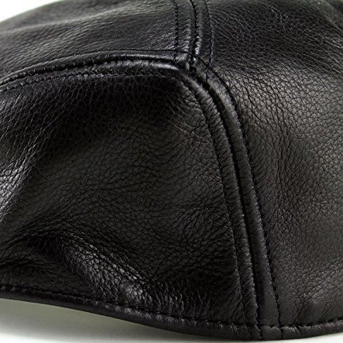 ニューヨークハット/NewYorkHat/ハンチング/帽子/メンズ/レザー/牛革/本革/レディース/Lamba1900/9250/ブラック/黒
