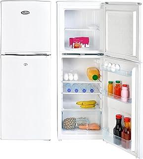 Super General 190 Liters Gross Compact Double Door Refrigerator-Freezer, Reversible door, Tropical Compressor, White, SGR-...