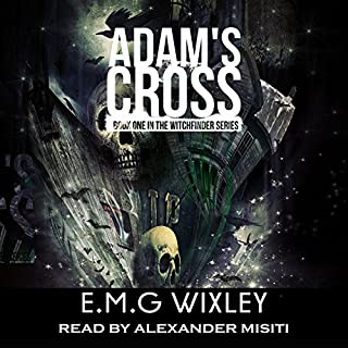 Adam's Cross audiobook cover art