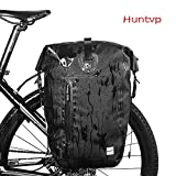 Huntvp® 25L Gepäckträgertasche Fahrradtasche Wasserdicht Hinterradtasche Gepäckträger Tasche...