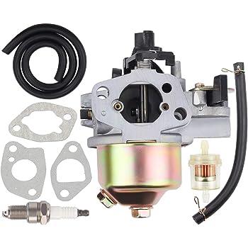 Amazon.com : Hipa Carburetor with Fuel Filter for Honda HRB215 HRC215  HRM195 HRM215 Lawn Mower : Garden & OutdoorAmazon.com
