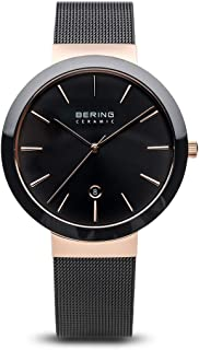 Time 11440-166 Men's Ceramic Collection Watch with Sapphire Crystal. Designed in Denmark.