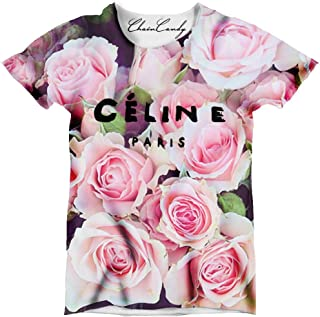celine paris logo t shirt