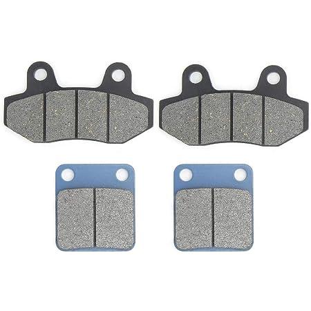 EBTOOLS Plaquette de frein à disque moto plaquette de frein avant et arrière convient pour 50 90110125140150 160cc Pit Dirt Bike