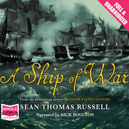 A Ship of War audiobook cover art