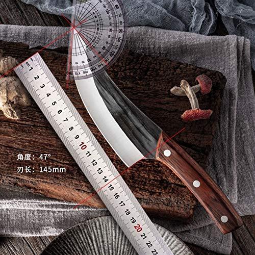 Cuchillo de deshonesta profesional de la matanza 6 pulgadas de acero inoxidable forjado utilizado for cortar carne de corte de carne de hortalizas. (Color : MTG13)