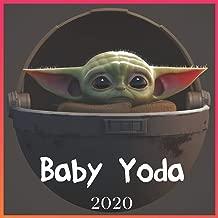 Baby Yoda 2020: Baby Yoda 2020 calendar: The child - 2020 Wall Calendar- Star Wars The Mandalorian
