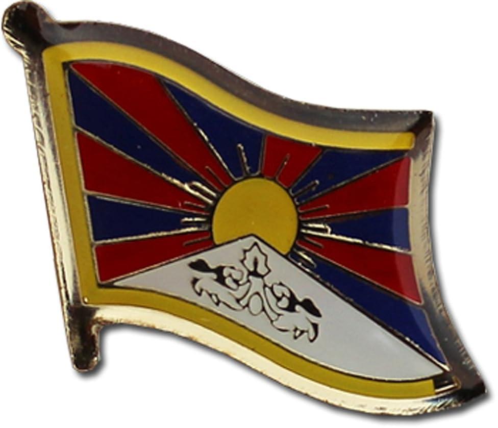 Flagline Tibet - National Lapel Pin