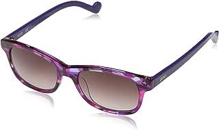 Liu Jo Rectangular LJ3601S Purple Marble Girl's Sunglasses