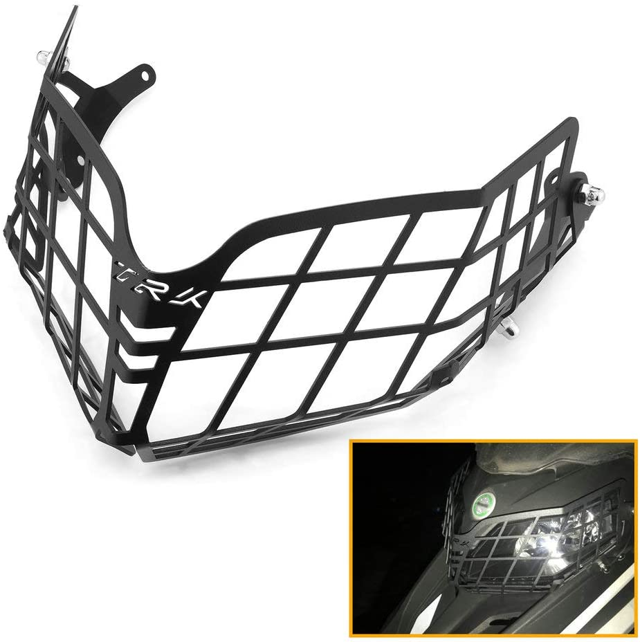 Super beauty product restock quality top! QIDIAN Stainless Steel Motorcycle Headlight Headlamp Guard Front Portland Mall
