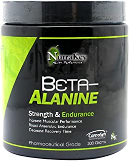Nutrakey Beta-Alanine Unflavored 300 Grams