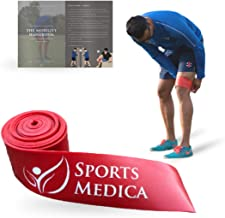 Sports Medica Doctor Developed Floss Band - for Muscle Compression, Posture, Swelling, Recovery - Skin & Hair Friendly - The Mobility Handbook and Video Series Included