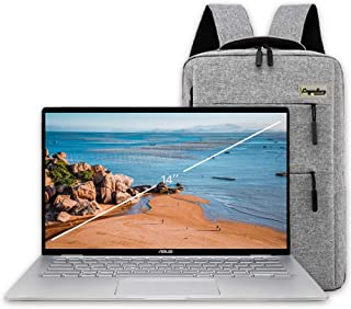 "2020 ASUS 14"" FHD Touchscreen 2-in-1 Convertible Laptop, AMD Ryzen 5 3500U (Beats Intel i7-7500U), 8GB Memory, 256GB SSD, ..."