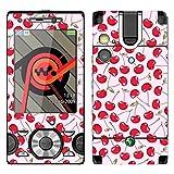 DISAGU SF de 8587_ 1079Diseño Skin para Sony Ericsson W995–Diseño Cerezas Color Rosa