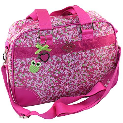 Mimi's little Garden Bowling Bag Umhängetasche Tasche Mädchentasche Tragetasche Pink Handtasche