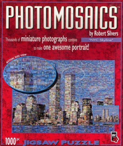 Photomosaics by Robert Silvers Alien Encounter 1000-piece Jigsaw Puzzle Buffalo Games Inc.079346005109