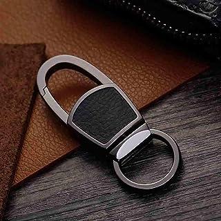 Key Ring Car Metal Keychain Creative Business Gift Auto Keyring for Men Women Key Holder Portable Accessories YJXUSHYQ (Co...
