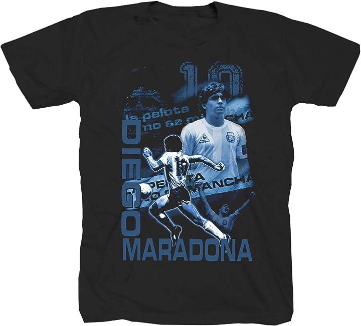 Maglietta diego armando maradona tex-ha B07ZTCBKXQ