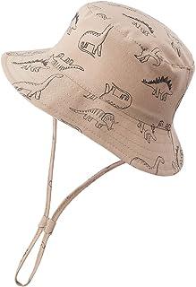 Baby Sun Hat Toddler UPF 50+ Sun Protection Hat Baby Boys Girls Summer Hat Beach Bucket Outdoor Play Wide Brim Infant Sun Hat