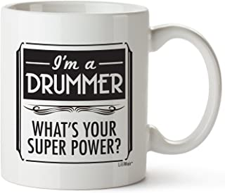 Fathers Day Gifts for Drummers Women Men Christmas Boyfriend Girlfriend Birthday Unique Best Cheap Funny Perfect Mug Drummers Girl Prime Gift Bag Mens Ideas Cool Dad Novelty Boyfriend Man Musician