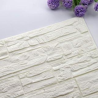 comprar comparacion Etiqueta de la pared de BaZhaHei, DIY 3D ladrillo PE espuma Wallpaper Panels Room Decal Stone decoración en relieve del Ad...