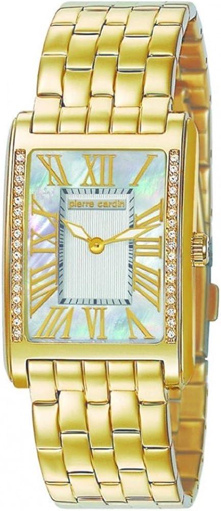 Pierre cardin l`independance,orologio da donna,in acciaio inossidabile PC105172F05
