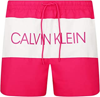 Calvin Klein Men's Medium Drawstring_Swim_Trunks