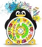 Boxiki Kids Jouet Éducationnel d'apprentissage de l'Anglais Penguin Power Learning ABC par Le Centre de Jeu d'apprentissage stimule la compréhension des sujets de Base de la prématernelle