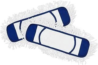 Eyliden 2 Pack Mop Pads (Fit Eylideng Dust Mop: PB-06-02) Wet Dry Dust Mop Pads Microfiber Hardwood Floor Mop Pads Replacement Refills for Wet or Dry Floor Cleaning