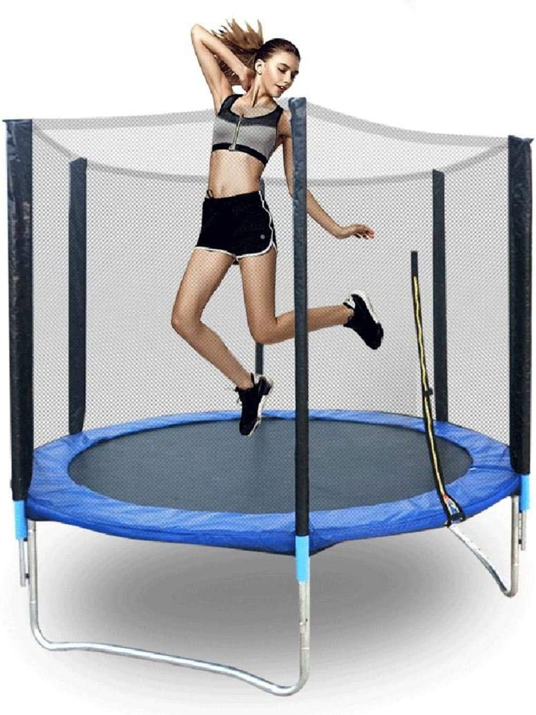 BESLUK 6ft 8ft 10ft 12ft Kids Trampoline with Enclosure Net Jump