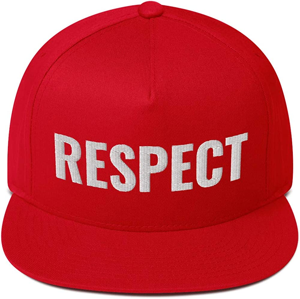 Universal Gear Grab Respect Flat Bill Cap