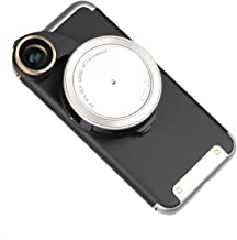 Ztylus 4-in-1 Revolver Lens Smartphone Camera Kit for Apple iPhone 7: Super Wide Angle, Macro, Fisheye, CPL, Protective Case, Phone Camera, Photo Video (Silver)